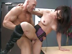 Rampant Cytherea is rutted up her dripping clunge