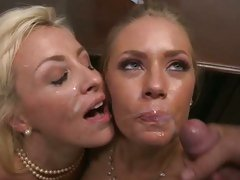 Lexi Swallow and Nicole Aniston are facialled