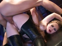 Insatiable Aiden Starr loves getting fucked from behind