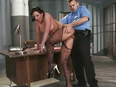 Alluring Phoenix Marie is dicked up her dripping clunge
