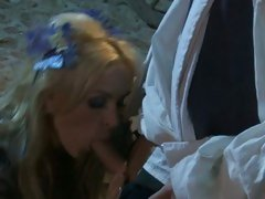 Scorching hot Tanya Tate drools on this fuck stick