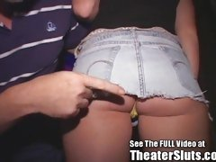 HOT Teen Bangs Anonymous Tampa Porn Theater Perverts!