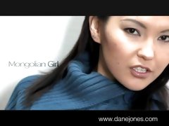 DaneJones Mongolian girl with hot body masturbates