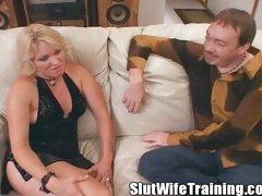 Jackie Passes Dirty D's Slut Wife Graduate School!!