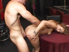 Luscious Brandy Nicole gets her moist pussy hammered
