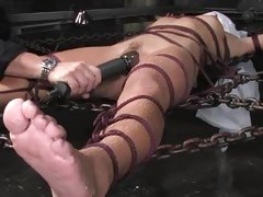 Alluring Keeani Lei gets her nob nest toyed