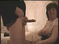 Chubby wife suck and fuck with hubby