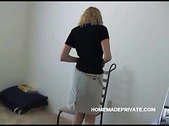 Amateur blonde gf fucked