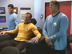 Star Trek sex parody with hot fucking