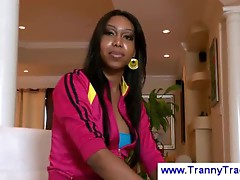Black tranny in my livingroom
