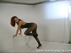Flexi fetish girl big tits sex