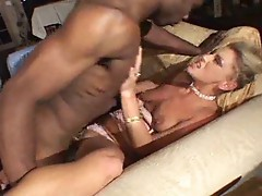 BBC fucks blonde wife in the butt