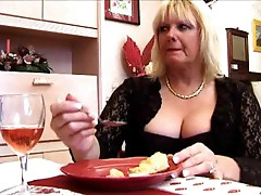 Chubby mature fucked while husband watches