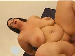 Fat slut in glasses pounded by dick