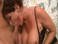 Amateur handy and BJ in bathroom