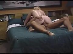 Muscular man slamming cunt of hot blonde