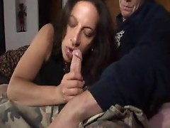 Curvy mother fucked in her pussy from behind