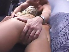 Blonde babe Krystal Steal having hardcore sex