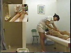 Wet sensual massage with Japanese girl