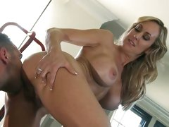 Brandi Love getting lick on her wet cunt