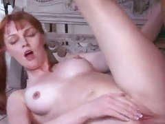 Hot little cheerleader Marie McCray cock slammed