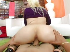 Teddi Holland's pussy is starving for meaty cock to stretch her tight hole.