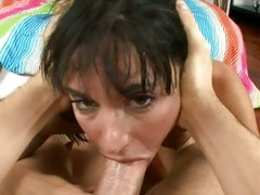 Haley Wilde suck the cock hard deep throat
