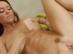 Janet Mason squirt cum after a hard cock drill