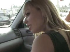 Adrianna Nicole pick up and ride with black guy