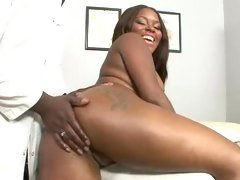 Candice Nicole bubble butt ebony get ass finger hard