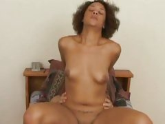 Courtney Devine fuck with a long hard cock on couch