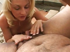 Sindy Lang horny babe rub one tiny dick out