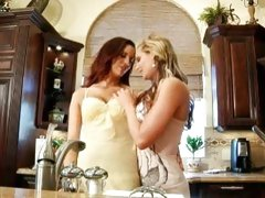 Jayden Cole and Phoenix Marie hot lesbians get horny