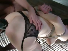 January Seraph get the ass of hot tied chick fingered
