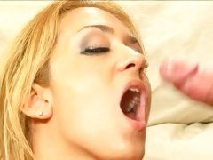 Scorching Trina Michaels gets her face blasted with cum