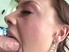 Chanel Preston like doing oral sex on a hard penis