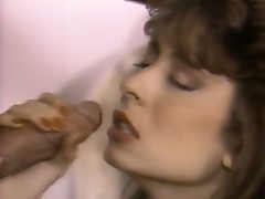 Hot vintage cock fucking for this sweet slut