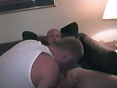 Horny cum starving gay studs filling up gaping holes