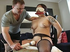 Bounded hot slut that loves fucking sweet dicks