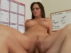 Smutty slut Syren DEmer gets her asshole boned Deep with a Massive cock
