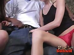 Cum starving white chicks sharing enormous black boner