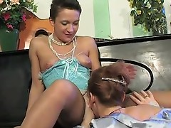Bridget and Sheila lesbo older clip