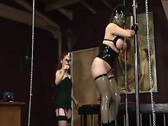 Mistress gemini and jewel marceau in lesbian punishment