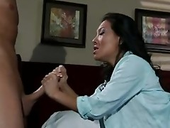 Scorching floozy Asa AKira feeds her Starving Mouth with a live hard sauSage