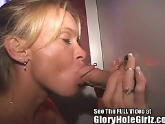 Smoking  hot milf barebacking all cummers at local tampa gloryhole