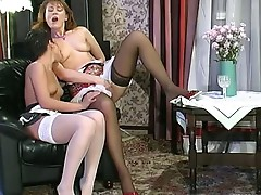 Bridget and Sheila mature lesbian video