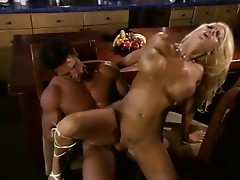 Two of the most tanned and stacked performers fucking hard