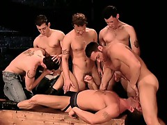 Hardcore gay orgy anal gang fucking nasty session