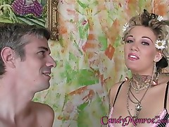 Sexy Candy Monroe cuckolds again