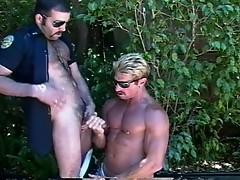 Gay sex outdoor